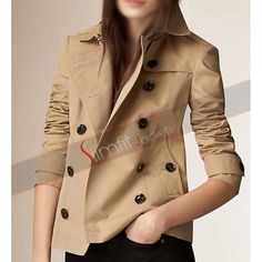 Shop for Cotton Poplin Trench Jacket by Burberry at ShopStyle. How To Wear Culottes, Blazers, Tailored Coat, Trench Jacket, Trench Coats, Burberry Jacket, Double Breasted Jacket, Cotton Jacket, Coats For Women