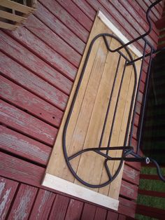 Right at Home: {$20 Patio Table Redo} well this would be the simplest way to fix the patio table since the glass broke when the dust devil picked it up...