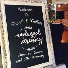 Yes! #unplugged #wedding