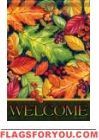 Leaves And Berries House Flag