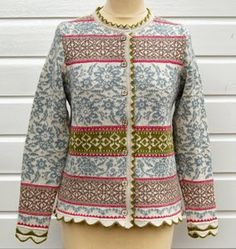 Oleana - Trollenwol I love this kind of traditional patterns from Norway