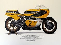 Yamaha YZR500 OW35 1978