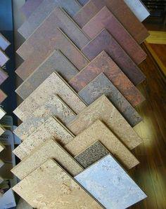 Residential Flooring: Cork Flooring click now for info. Modern Flooring, Kitchen Flooring, Cork Flooring Bathroom, Basement Bathroom, Cork Tiles, Flooring Options, Flooring Ideas, Shabby, Reno