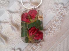 Promise Of A Rose Garden-Red Rosebud by giftforallseasons on Etsy