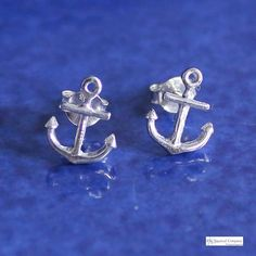 Nautical but nice! Had fun this morning shooting small accessories in preparation for that special event we shall not name before November . In sterling silver, these anchor earrings are just too sweet. ❤️⚓️ Shop at www.thenauticalco... #shipworldwide #earrings #anchor #ootd #jewellery #silver #sterlingsilver #nautical #nauticalfashion #thenauticalcompany #fashionlover #fashionista #fashiongram #fashionblogger #nauticaljewelry #nauticaljewellery #outfitoftheday #nauticalstyle