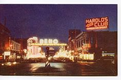 Harold's Club and downtown Reno, 1950s