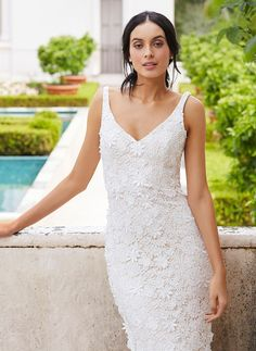 Fitted Lace Wedding Dress Bodice