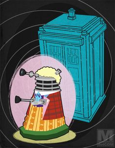 Daleks in the perfect disguises! (The Sixth Doctor)