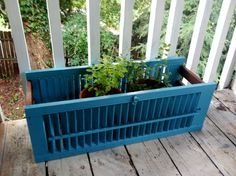 Flower Boxes made from Shutters via Etsy.