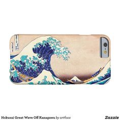 Hokusai Great Wave Off Kanagawa Barely There iPhone 6 Case