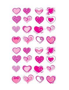 Heart shape Template 27