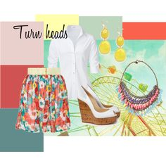 Turn heads with fashion., created by theedeandrab on Polyvore