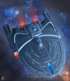 Recovering Shuttlecraft T'Pytr by Rob-Caswell on deviantART