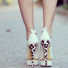 leopard shoes - add a cute pop of attitude under your wedding dress! #leopardwedding