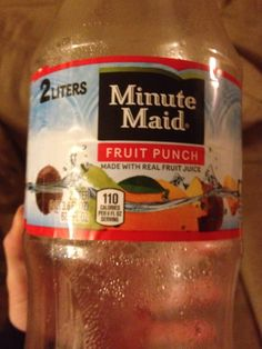 MinuteMaid fruit punch - Must buy more!