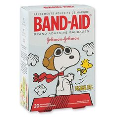 Snoopy Bandaids  Band-Aid® Peanuts Bandages - First Aid Supplies - 20 per ...