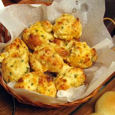 Cooking in the Groves: Garlic Cheese Biscuits