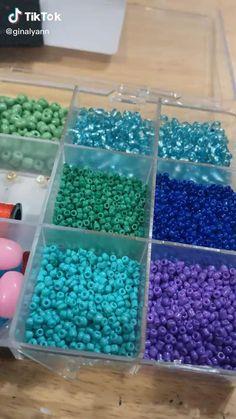 Beaded Crafts, Diy Crafts Jewelry, Fun Diy Crafts, Sewing Crafts, Paper Crafts, Diy Beaded Rings, Handmade Wire Jewelry, Bead Jewellery, Crafty Craft