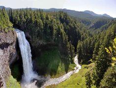 Salt Creek Falls - hikes