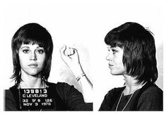 Jane Fonda was arrested for drug smuggling charges in 1970.