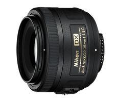 AF-S DX NIKKOR 35mm f/1.8G Vast-brandpunt-objectieven DX Autofocus-objectieven NIKKOR-objectieven