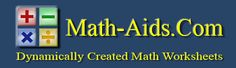 Math-Aids.com... the website contains over 80 different math topics with over 980 unique and free worksheets. These math worksheets are a great resource for K thru 12th grade.