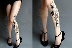 Nouveau 15%OFF/endsJUN28/: L/Xl sexy Aquarium par tattoosocks