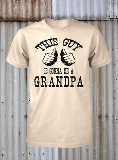 Omg. Amazing april fools joke for my dad. Hahahaha New Grandpa Shirt   by FunhouseTshirts, $14.99