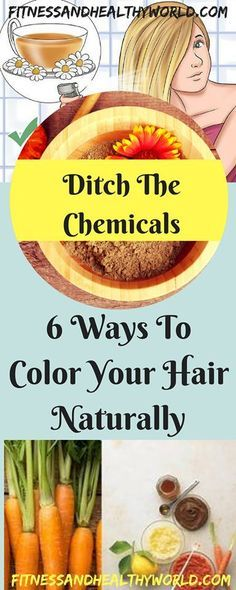 Ditch the Chemicals 6 Ways to Color Your Hair Naturally - Fitness, Nutrition, Tools, News, Health Magazine Beauty Care, Beauty Hacks, Hair Beauty, Beauty Tips, Belleza Diy, Color Your Hair, Homemade Beauty, Hair Hacks, Hair Tips