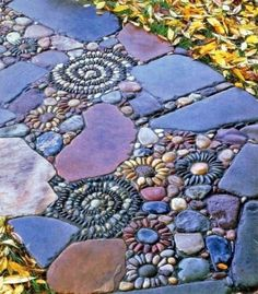 Mosaic in the garden How about a colorful mosaic in the garden? That way, you can implement with little effort and waste more energy and freshness in outer space. ...