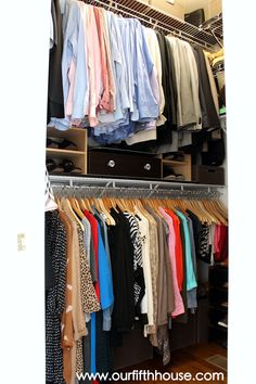 Organization Ideas shoes Shared Closet Organization Ideas Shoe Racks 43 Ideas For 2019 Shared Closet Organization Ideas Shoe Racks 43 Ideas For 2019 Narrow Closet, Tiny Closet, Small Closets, Small Closet Organization, Closet Storage, Bedroom Storage, Organization Ideas, Bedroom Organization, Organizing Tips