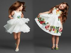 The Adorable Dolce and Gabanna Kids - Fall 2014 Fashion Design For Kids, Kids Fashion, Girls Party Dress, Young Fashion, Little Girl Fashion, My Princess, Child Models, Baby Sewing, Cute Kids