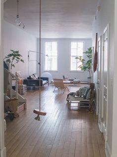 inside steven alan: apartment visit
