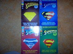 Reign of the Supermen! Set of 4 Comics