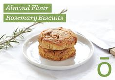 doTERRA Almond Flour Rosemary Biscuits (Cookies)  Gluten-Free