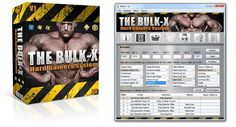 Bulkx – Hard Gainers System is a specialized bodybuilding software.