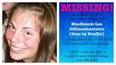 Please repin and spread the word. #findKenzie