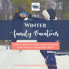 Looking to travel over the winter holidays? This board has the best options for an amazing winter vacation. Winter Family Vacations, Family Travel, Winter Holidays, Good Things, Amazing, Board, Family Trips, Winter Breaks, Family Vacations