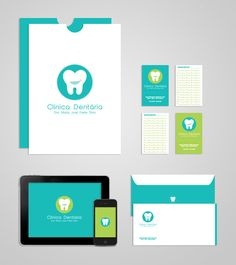 Dental Clinic | Drª Maria José Freire Diniz by Tânia Carvalho, via Behance