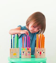 DIY-Möbel, Spielzeug und Kunst fürs Kinderzimmer