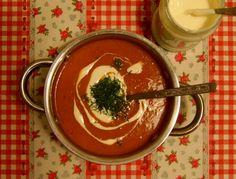 Krem z pomidorów w wersji zimowej