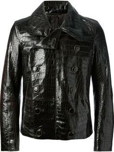 Giorgio Armani aligator leather jacket on shopstyle.com ($48,111)