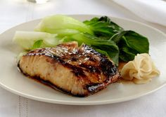 Nobu Matsuhisa's Black Cod with Miso    This sweet and silky black cod dish, from Nobu Matsuhisa of the Nobu restaurant empire, has been copied by chefs around the world.