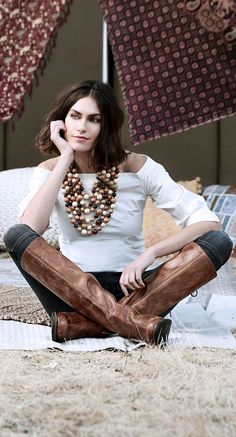 Hand crafted leather tall boot by BEDSTU. Sit and think with ease knowing you have mastered Fall fashion. Sexy Boots, Cool Boots, Knee Boots, Heeled Boots, High Boots, Brown Boots Outfit, Fall Winter Shoes, Tan Leather Boots, Botas Sexy