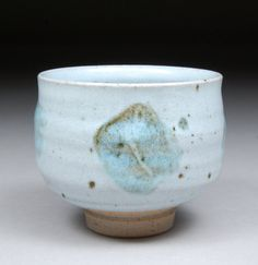 Yunomi Tea Cup glazed with Nuka and Iron Slip for Simplicity and Elegance