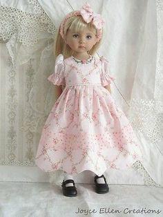 "13"" Effner Little Darling BJD Fashion by JEC Pretty Much Pink Romper Dress Set | eBay. Ends 4/13/14. Sold for $210.27, twelve bids."