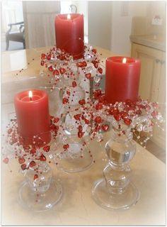 valentine centerpiece ideas - Google Search: