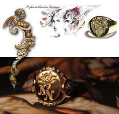 Stefania Nicastro Incisore a mano su oro, argento e pietre dure.