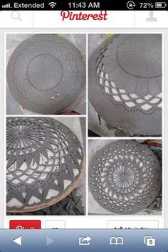 Pottery bowl