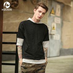 fdb19f725f3 HZIJUE Original Design Fashion Male Brand T-shirts